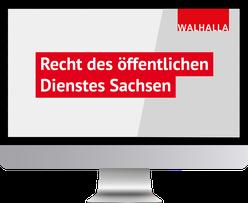 Recht des öffentlichen Dienstes Sachsen