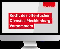 Recht des öffentlichen Dienstes Mecklenburg-Vorpommern