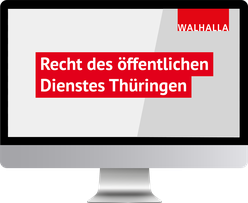 Recht des öffentlichen Dienstes Thüringen