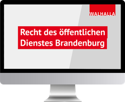 Recht des öffentlichen Dienstes Brandenburg