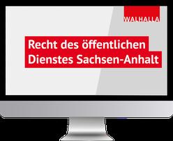 Recht des öffentlichen Dienstes Sachsen-Anhalt